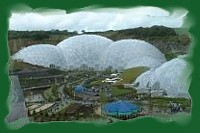 The Eden Biomes at St Blazey near St Austell