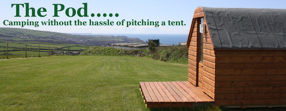 Pod Camping in North Cornwall's quiet and scenic countryside, then Lower Pennycrocker is for you. Situated on a Farm that is set in an area of outstanding natural beauty with the most breathtaking views, our site offers all you need.